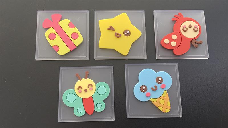 Из каучука этикетка бабочки цветочки для детей
